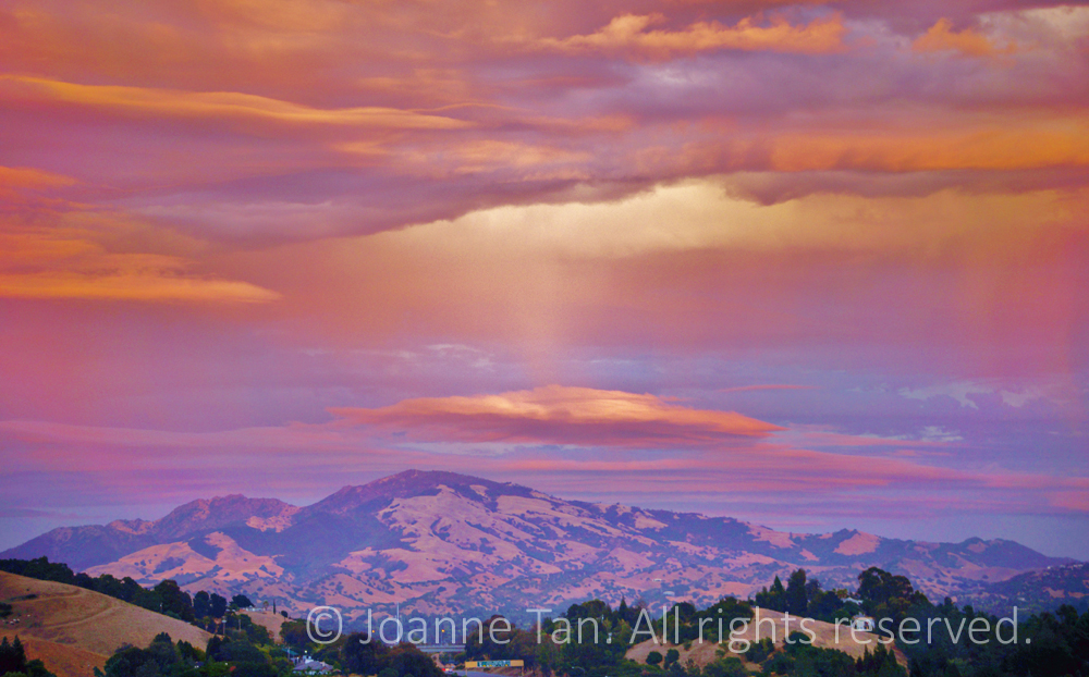 p-landscape  - A Message from Above. Mt Diablo, CA (1)