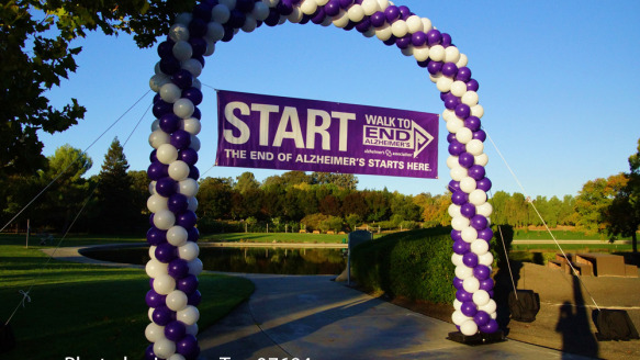 Walk to End Alzheimer's, Walnut Creek, CA, 10. 2014